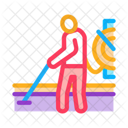 Drain Cleaning System Icon