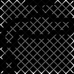 Drain Valve Line Icon