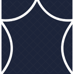 Drama Glyph Icon