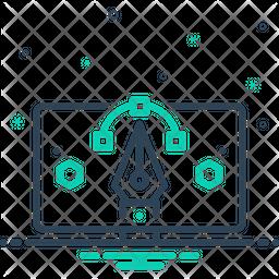 Draw Dualtone Icon
