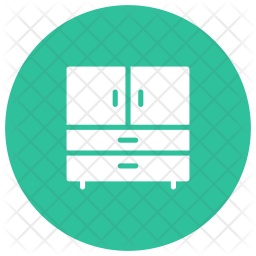 Drawers Glyph Icon