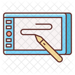 Drawing Tablet Icon