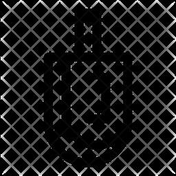 Dreidel Line Icon