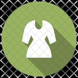Dress Glyph Icon