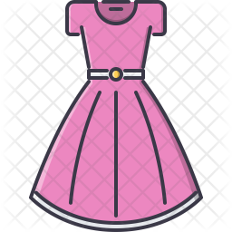 Dress Icon Of Colored Outline Style Available In Svg Png Eps Ai Icon Fonts