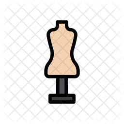 Dress Dummy Icon Of Colored Outline Style Available In Svg Png Eps Ai Icon Fonts