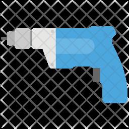Drill Machine Icon