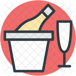 Drink Colored Outline Icon