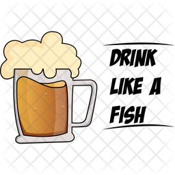 Drink Like A Fish Icon