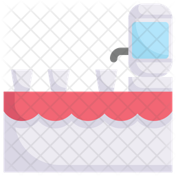 Drink Table Flat Icon