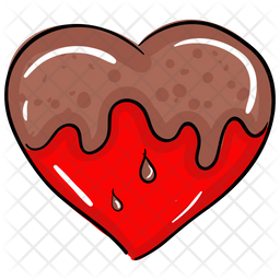 Dripping Heart Icon