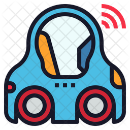 Driverless Vehicle Icon