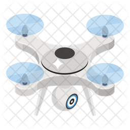 Drone Icon Of Isometric Style Available In Svg Png Eps Ai Icon Fonts