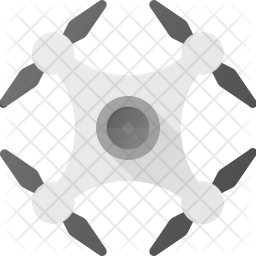 Drone Flat Icon