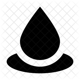 Drop Glyph Icon