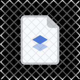 Dropbox file Icon