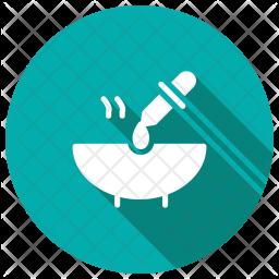 Dropper Glyph Icon