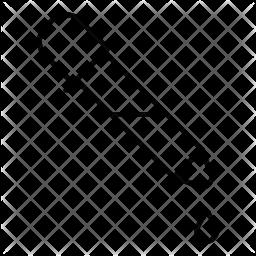 Dropper Line Icon