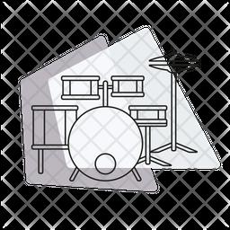 Drum set Icon