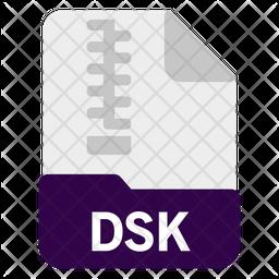 Dsk file Icon