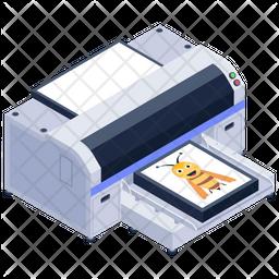 DTG Printer Icon