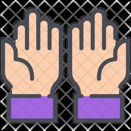 Dua Colored Outline Icon