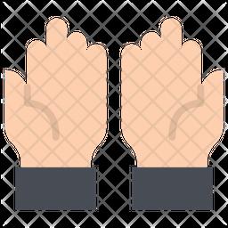Dua Flat Icon