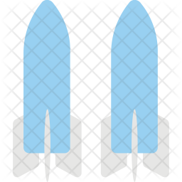 Dual Space Shuttles Icon