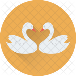 Duck in love Icon