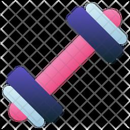 Dumbbell Gradient Icon