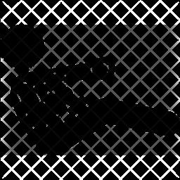 Dumbbell V Sit Cross Jab Icon