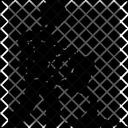 Dumping Glyph Icon