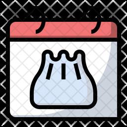 Dumpling day Icon