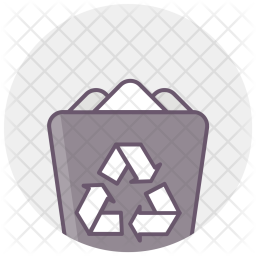 Dustbin, Recycle, Bin, Trash, Erase Icon