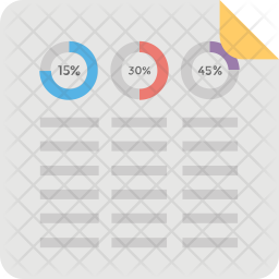Dynamic Donut Charts Icon