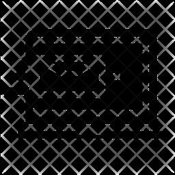 E Mail Glyph Icon