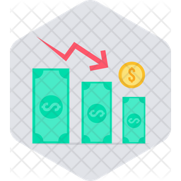Earning Decrement Icon