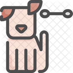 Ears Colored Outline Icon