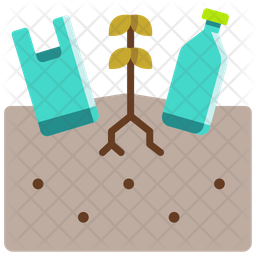 Earth garbage Icon
