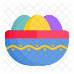 Easter Bowl Icon