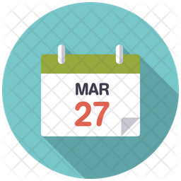 Easter Date on calendar Icon