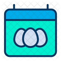 Easter Date Icon