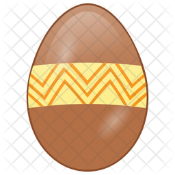Easter Egg Flat Icon