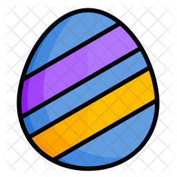 Easter Egg Design Icon