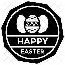 Easter Emblem Icon