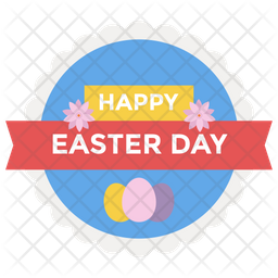 Easter Logo Icon