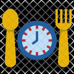 Eat routine Icon