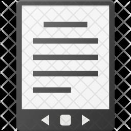 Ebook Flat Icon