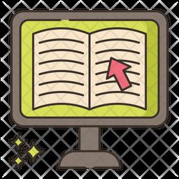Ebook Bookstore Icon