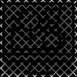 Ebusiness Line Icon